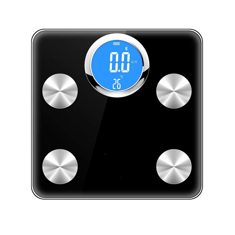 high Accuracy LCD display Bluetooth Digital Connectivity App body fat Scale