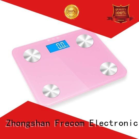 Frecom online smart body fat scale digital fancy